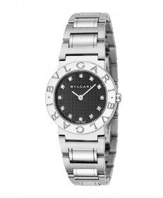 ブルガリ ブルガリブルガリ BB26BSS/12  腕時計 レディース BVLGARI BVLGARIBVLGARI メタルブレス クオーツ ブラック プレゼント ラッピング無料