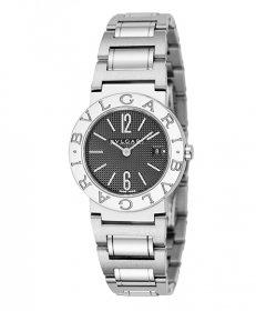 ブルガリ ブルガリブルガリ BB26BSSD 腕時計 レディース BVLGARI BVLGARIBVLGARI メタルブレス クオーツ ブラック プレゼント ラッピング無料