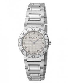 ブルガリ ブルガリブルガリ BB26WSS/12 腕時計 レディース BVLGARI BVLGARIBVLGARI メタルブレス クオーツ ホワイト プレゼント ラッピング無料