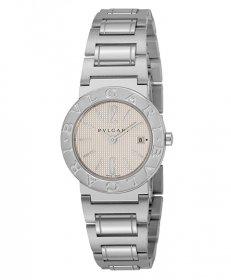 ブルガリ ブルガリブルガリ BB26WSSD 腕時計 レディース BVLGARI BVLGARIBVLGARI メタルブレス クオーツ ホワイト プレゼント ラッピング無料