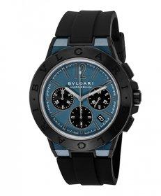 ブルガリ ディアゴノマグネシウム DG42C3SMCVDCH  腕時計 メンズ BVLGARI Diagono Magnesium ラバーストラップ 自動巻き プレゼント ラッピング無料