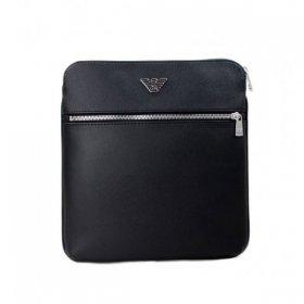 エンポリオアルマーニ ショルダーバッグ 縦型 Y4M184 YLA0E 81072 メンズ ブラック 黒 EMPORIO ARMANI イーグルマーク ビジネスバッグ