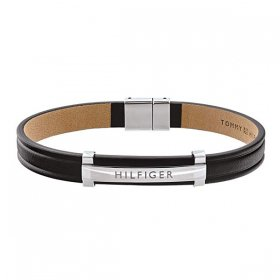 トミー ヒルフィガー  2790161 ブラック ブレスレット TOMMY HILFIGER  bracelet メンズ バックル バレンタイン ホワイトデー