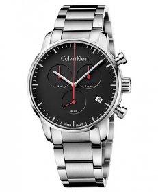 カルバンクライン シティ K2G27141 腕時計 メンズ CALVIN KLEIN City クロノグラフ メタルブレス