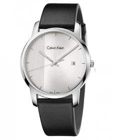 カルバンクライン シティ K2G2G1CX 腕時計 メンズ CALVIN KLEIN City レザーストラップ