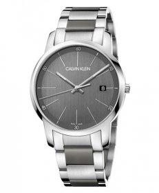 カルバンクライン シティ K2G2G1P4 腕時計 メンズ CALVIN KLEIN City メタルブレス