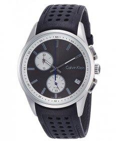 カルバンクライン ボールド K5A371C3 腕時計 メンズ CALVIN KLEIN bold レザーストラップ