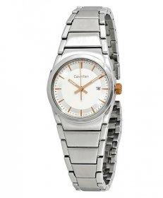 カルバンクライン ステップ K6K33B46 腕時計 レディース CALVIN KLEIN step メタルブレス