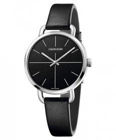 カルバンクライン イーブン エクステンション K7B231CZ 腕時計 レディース CALVIN KLEIN Even Extension レザーストラップ