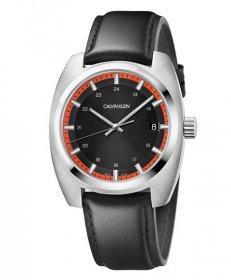 カルバンクライン アチーブ K8W311C1 腕時計 メンズ CALVIN KLEIN ACHIEVE レザーストラップ