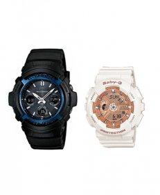 カシオ ジーショック AWGM100A1AJF/BA1107A1JF 腕時計 メンズ/レディース CASIO G-SHOCK ペアウォッチ 防水 プレゼント 記念日 お揃い