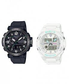カシオ ジーショック PRW6600Y1JF/BAX1007AJF 腕時計 メンズ/レディース CASIO G-SHOCK ペアウォッチ 防水 プレゼント 記念日 お揃い