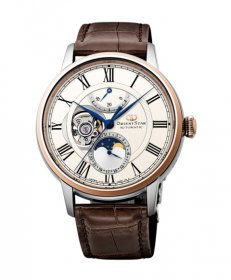 オリエントスター メカニカルムーンフェイズ RK-AM0003S 腕時計 メンズ ORIENT STAR  レザーベルト ワニ革 ビジネスウォッチ 父の日 プレゼント