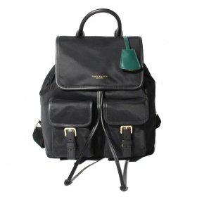 トリーバーチ バックパック ペリー 58041 001/Black ブラック 黒 レディース Tory Burch Perry Nylon Flap Backpack リュックサック ナイロン