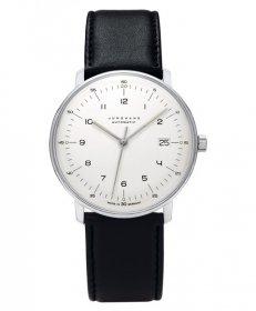 ユンハンス マックスビル 027 4700 02 自動巻き 腕時計 メンズ JUNGHANS Max Bill Automatic 027/4700.02 レザーストラップ