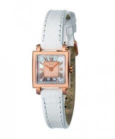 フェンディ クワドロ ミニ F604524541   腕時計 レディース FENDI QUADORO MINI レザーベルト ピンクゴールド 白ベルト クォーツ プレゼント