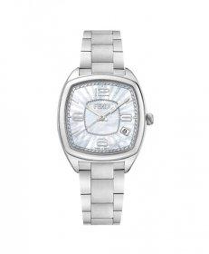 フェンディ モメントフェンディ F221034500 腕時計 レディース FENDI MOMENTO メタルブレス シェル文字盤 クォーツ プレゼント