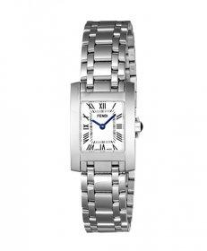 フェンディ クラシコタンク F114100101  腕時計 レディース FENDI ClassicoTank メタルブレス ホワイト文字盤 スクエア文字盤 クォーツ プレゼント