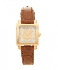 フェンディ クアドエオミニ F604524521  腕時計 レディース FENDI QUADOROMINI カーフレザーストラップ ホワイトパール文字盤 スクエア文字盤 クォーツ プレゼント