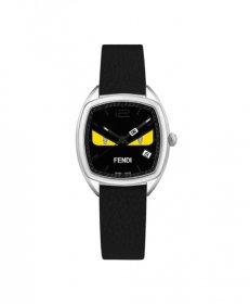 フェンディ モメント フェンディ バグズ F222031611D1  腕時計 レディース FENDI Momento Fendi Bugs カーフレザー フェンディモンスター クォーツ プレゼント