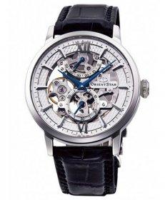 オリエントスター クラシック スケルトン RK-DX0001S 腕時計 手巻き メンズ ORIENT STAR レザーストラップ ビジネスウォッチ 父の日 プレゼント ネイビーベルト