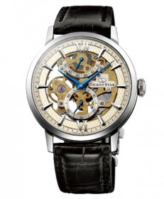 オリエントスター クラシック スケルトン WZ0041DX 腕時計 手巻き メンズ ORIENT STAR レザーストラップ ビジネスウォッチ 父の日 プレゼント ブラックベルト