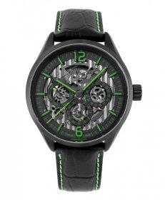 ユーロパッションウォッチ EP-S EP298-10 自動巻 腕時計 メンズ EURO PASSION WATCH ブラック レザーストラップ