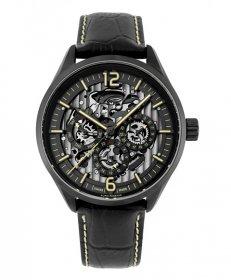 ユーロパッションウォッチ EP-S EP298-11 自動巻 腕時計 メンズ EURO PASSION WATCH ブラック レザーストラップ