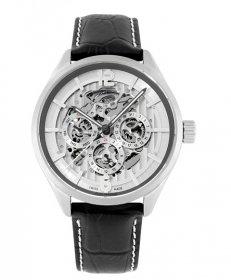 ユーロパッションウォッチ EP-S EP298-12 自動巻 腕時計 メンズ EURO PASSION WATCH シルバー レザーストラップ