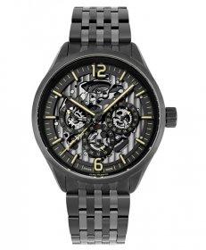 ユーロパッションウォッチ EP-S EP298-21 自動巻 腕時計 メンズ EURO PASSION WATCH ブラック メタルブレス