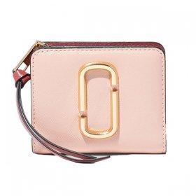 マークジェイコブス 二つ折り財布 M0013360 666/ROSE MULTI ローズ ピンク サイフ ウォレット MARC JACOBS Mini Compact Wallet レディース