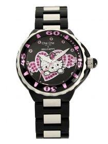 ワケあり アウトレット 73%OFF! チチニューヨーク CCHK676-BK 腕時計 レディース キティコラボ キティちゃん Che Che NewYork Hello Kitty