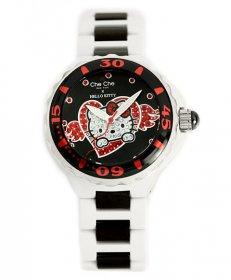 ワケあり アウトレット 73%OFF! チチニューヨーク CCHK677-WH 腕時計 レディース キティコラボ キティちゃん Che Che NewYork Hello Kitty