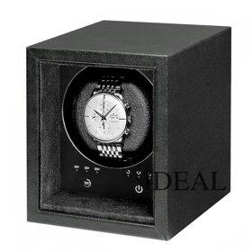 ボクシーデザイン ウォッチワインダー SE01-BK 1個巻き セーフエコ ブラック タッチパネル BOXY Design ※時計は付属していません
