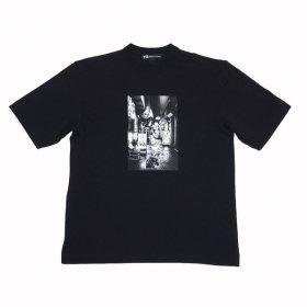 即納可能! Y-3 Tシャツ M ALLEWAY GRAPHIC SS TEE FP8698 メンズ BLACK ワイスリー Mサイズ