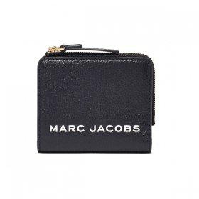 マークジェイコブス 二つ折り財布 M0017140 001/BLACK ブラック 黒 レディースザ ボールド ミニ コンパクト ジップ ウォレット ミニ財布 MARC JACOBS