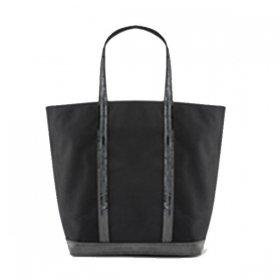ヴァネッサブリューノ トートバッグM OPVE01-V40590 999/Noir black ブラック 黒 レディース VANESSABRUNO スパンコール