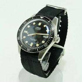 オリス ダイバーズ 65  73377204054D 腕時計 メンズ ORIS  レザーストラップ 自動巻き プレゼント ラッピング無料