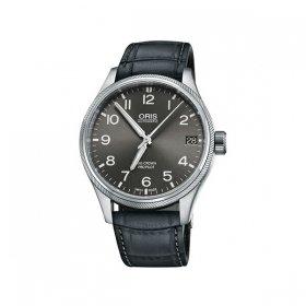 オリス ビッグクラウンPパイロットデイトGYカーフ 75176974063DLGY 腕時計 メンズ ORIS  レザーストラップ 自動巻き プレゼント ラッピング無料
