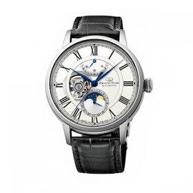 オリエントスター  メカニカルムーンフェイズ RK-AM0001S 腕時計 メンズ Orient Star  MECHANICAL MOON PHASE レザーベルト 自動巻 プレゼント