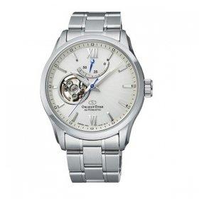 オリエントスター  セミ スケルトン RK-AT0004S 腕時計 メンズ Orient Star SEMI SKELETON メタルブレス 自動巻 プレゼント