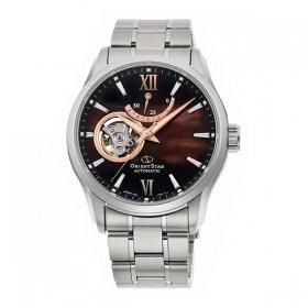 オリエントスター セミ スケルトン RK-AT0010A 腕時計 メンズ Orient Star SEMI SKELETON メタルブレス 自動巻 プレゼント