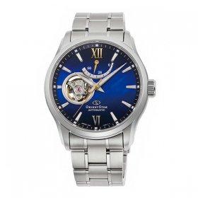 オリエントスター セミ スケルトン RK-AT0011A 腕時計 メンズ Orient Star SEMI SKELETON メタルブレス 自動巻 プレゼント