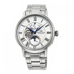 オリエントスター  メカニカルムーンフェイズ RK-AY0102S 腕時計 メンズ Orient Star  MECHANICAL MOON PHASE  メタルブレス 自動巻 プレゼント