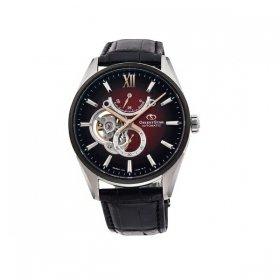 オリエントスター   RK-HJ0004R 腕時計 メンズ Orient Star  SLIM SKELETON/SLIM DATE  レザーベルト 自動巻 プレゼント