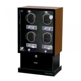 ユーロパッション  ウォッチワインディング ボックス アダプター付 FWD-12169EB ※時計は含まれません