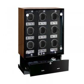 予約受付中(納期:お問合せください) ユーロパッション ウォッチワインディング ボックス FWD-17169EB ※時計は含まれません