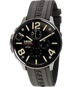 ユーボート カプソイル クロノ SS ラバー 8111CR 腕時計 メンズ U-BOAT CAPSOIL CHRONO SS RUBBER