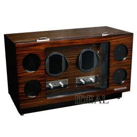 ユーロパッション ウォッチワインディング ボックス アダプター付 FWD-6173EB ※時計は含まれておりません