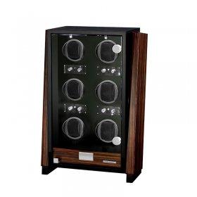 ユーロパッション ウォッチワインディング ボックス アダプター付 FWD-6174EB  ※時計は含まれておりません
